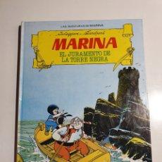 Tebeos: LAS AVENTURAS DE MARINA - EL JURAMENTO DE LA TORRE NEGRA, TORAY 1986.. Lote 234098770