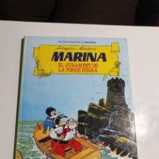 Tebeos: LES AVENTURES DE LA MARINA - MARINA EL JURAMENT DE LA TORRE NEGRA, TORAY, 1986.. Lote 234102100