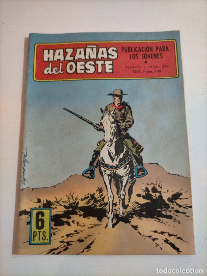 HAZAÑAS DEL OESTE - 244 (Tebeos y Comics - Toray - Hazañas del Oeste)