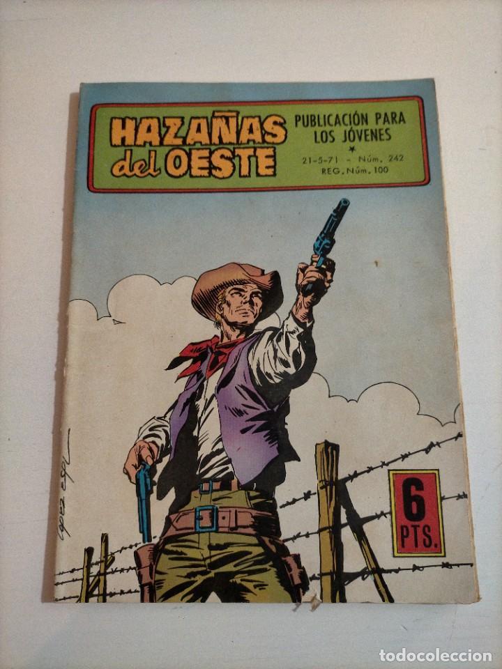 HAZAÑAS DEL OESTE - 242 (Tebeos y Comics - Toray - Hazañas del Oeste)
