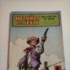 Tebeos: HAZAÑAS DEL OESTE - 242. Lote 234403785