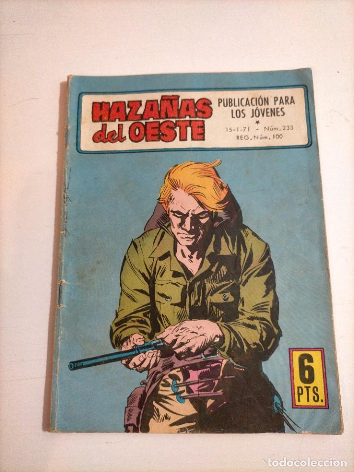 HAZAÑAS DEL OESTE - 233 (Tebeos y Comics - Toray - Hazañas del Oeste)