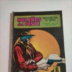 Tebeos: HAZAÑAS DEL OESTE - 225. Lote 234404140