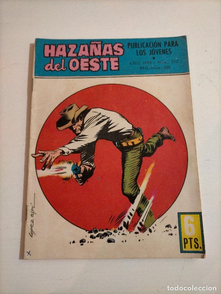 HAZAÑAS DEL OESTE - 222 (Tebeos y Comics - Toray - Hazañas del Oeste)