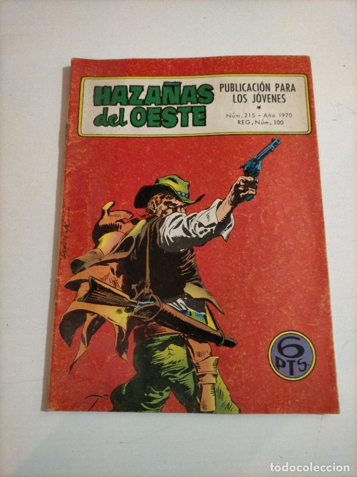 HAZAÑAS DEL OESTE - 215 (Tebeos y Comics - Toray - Hazañas del Oeste)