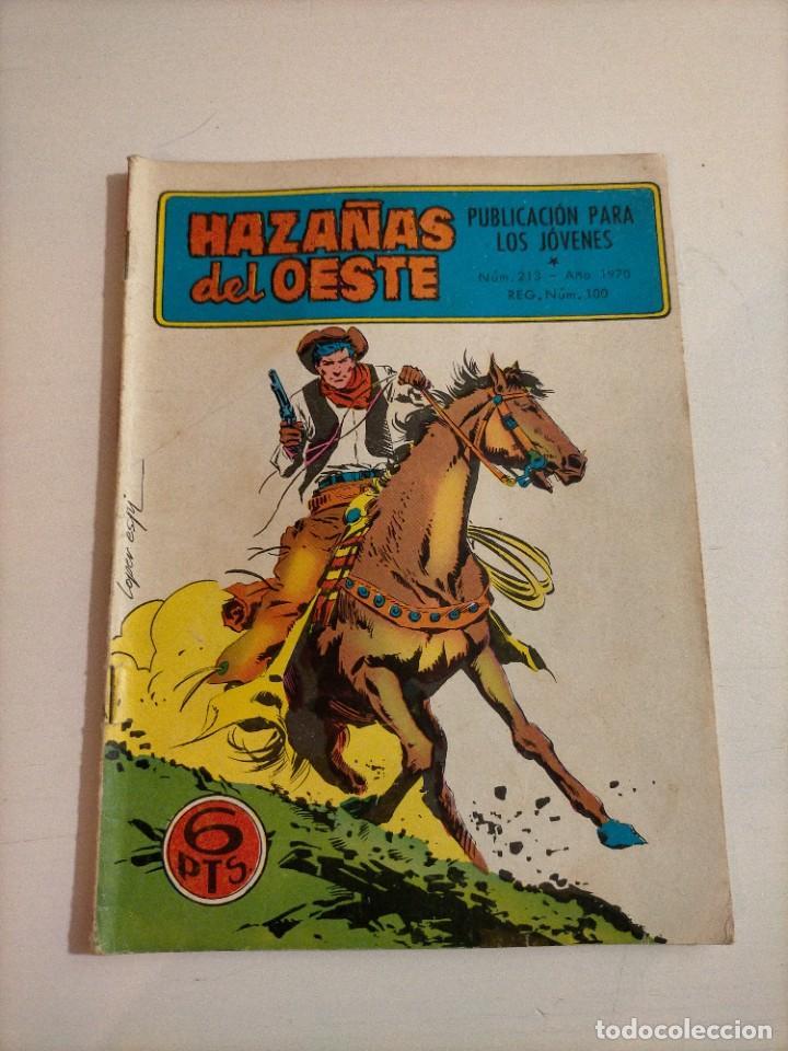 HAZAÑAS DEL OESTE - 213 (Tebeos y Comics - Toray - Hazañas del Oeste)
