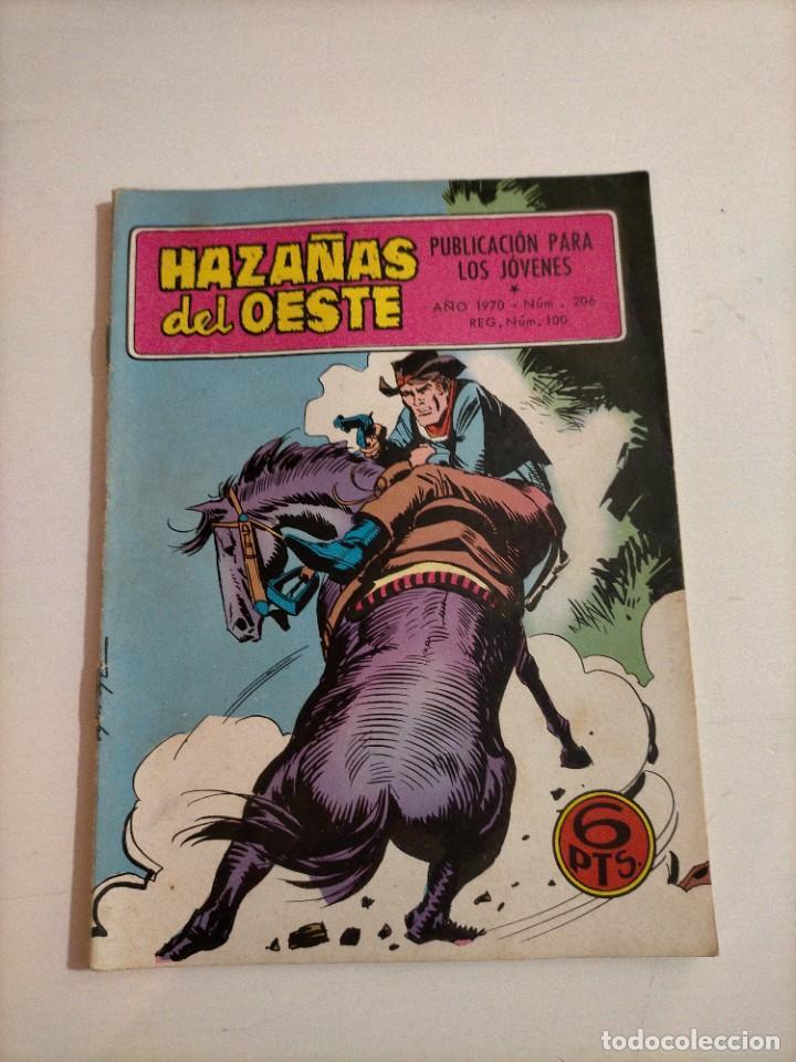 HAZAÑAS DEL OESTE - 206 (Tebeos y Comics - Toray - Hazañas del Oeste)