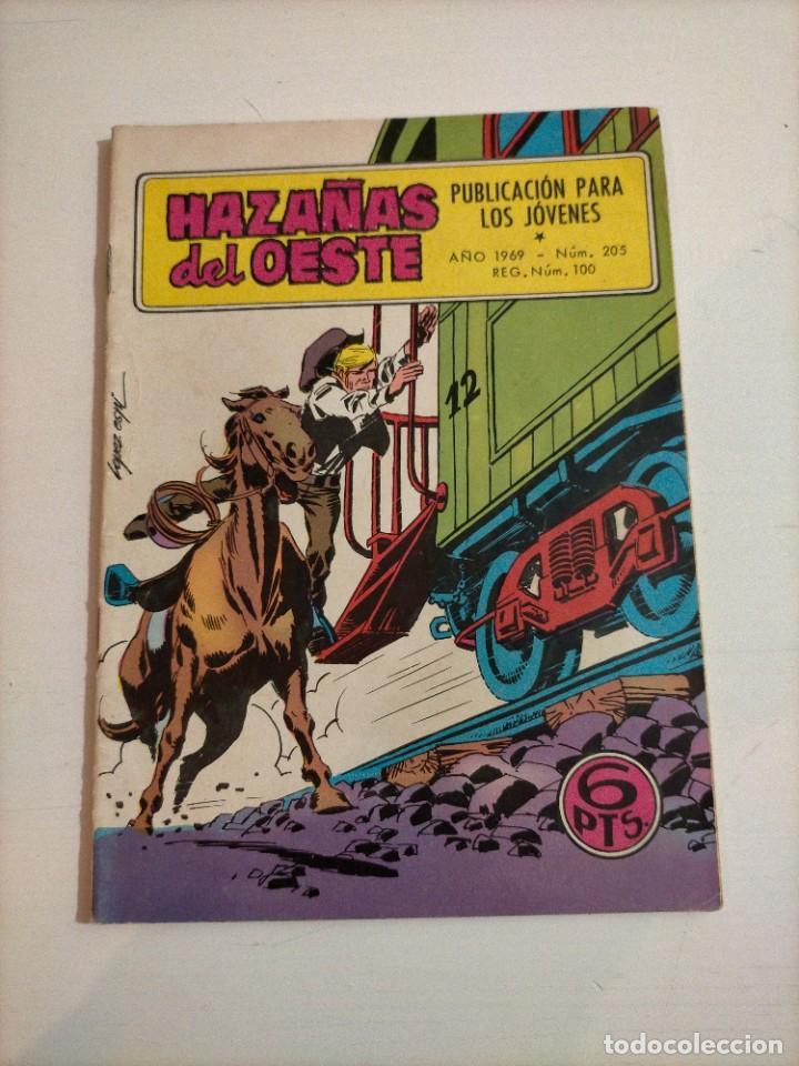 HAZAÑAS DEL OESTE - 205 (Tebeos y Comics - Toray - Hazañas del Oeste)