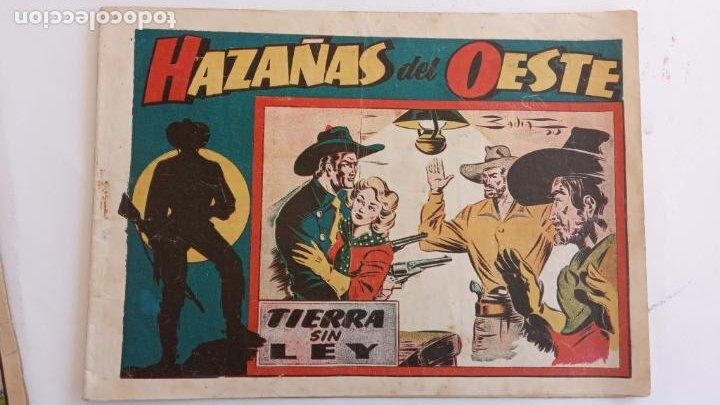 Tebeos: HAZAÑAS DEL OESTE ORIGINALES NºS - 3,7,9 - EDI, TORAY 1950 - BADÍA, DARNÍS, LONGARÓN DIBUJOS - Foto 3 - 234494240