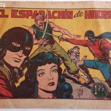 Tebeos: EL ESPADACHIN DE HIERRO ORIGINAL Nº 1 - EDI. TORAY 1949 - DIBUJO MANUEL GAGO GARCÍA. Lote 234494740