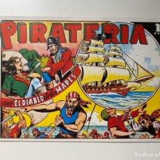 Tebeos: PIRATERIA CON EL DIABLO DE LOS MARES. EDICIONES TORAY.. Lote 234870740