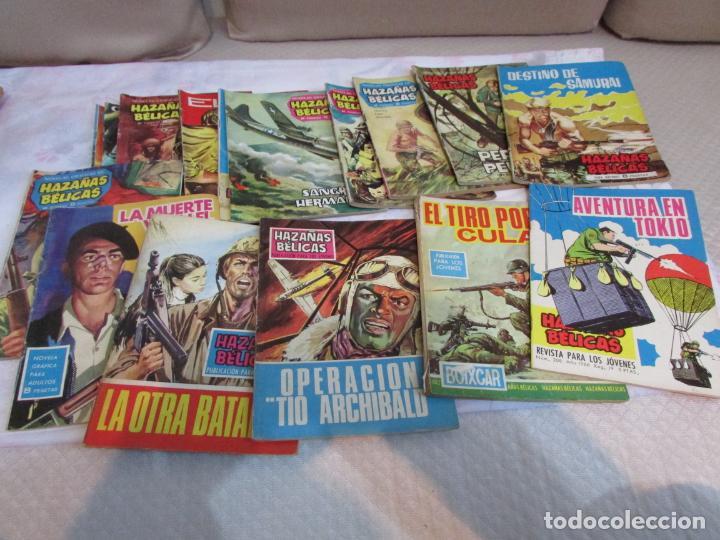 Tebeos: Lote Hazañas Bélicas Boixcar Publicacion para los jóvenes Ediciones Toray - Foto 2 - 234911520