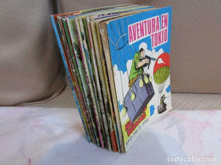 LOTE HAZAÑAS BÉLICAS BOIXCAR PUBLICACION PARA LOS JÓVENES EDICIONES TORAY (Tebeos y Comics - Toray - Hazañas Bélicas)