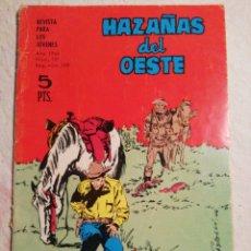 Tebeos: HAZAÑAS DEL OESTE N°127. Lote 235124195