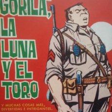 Tebeos: GORILA - Nº8 - TORAY 1973. Lote 235388840