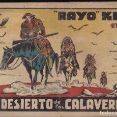 Tebeos: RAYO KIT Nº 6: EL DESIERTO DE LAS CALAVERAS. Lote 235530615