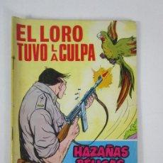 Tebeos: HAZAÑAS BÉLICAS - EL LORO TUVO LA CULPA, Nº 227 - ED TORAY - AÑO 1967. Lote 235909255