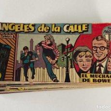 Tebeos: ÁNGELES DE LA CALLE, TORAY, 1951. Nº 1 AL 16 (FALTA NÚM. 8) MUY BUEN ESTADO. Lote 236135200