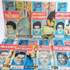 Tebeos: REVISTA CLARO DE LUNA 14 UNIDADES (1959-1971). Lote 236253880