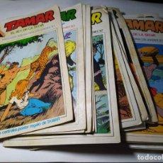 Tebeos: LOTE / PACK 39 COMIC - TAMAR EL REY DE LA SELVA - URSUS 1973 DEL 1 AL 39. Lote 236258725