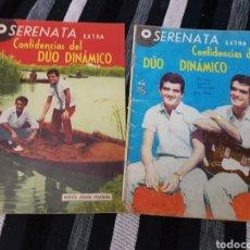 Tebeos: SERENATA CONFIDENCIAS DEL DÚO DINÁMICO 42 Y 47. Lote 236405510
