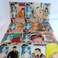 Tebeos: REVISTA LA SERENATA 8 UNIDADES (1959-1961). Lote 236432825