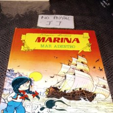 Tebeos: LAS AVENTURAS DE MARINA MAR ADENTRO TORAY CORTEGGIANI VER FOTOS ESTADO ESQUINAS ALGO TOCADAS. Lote 236759500