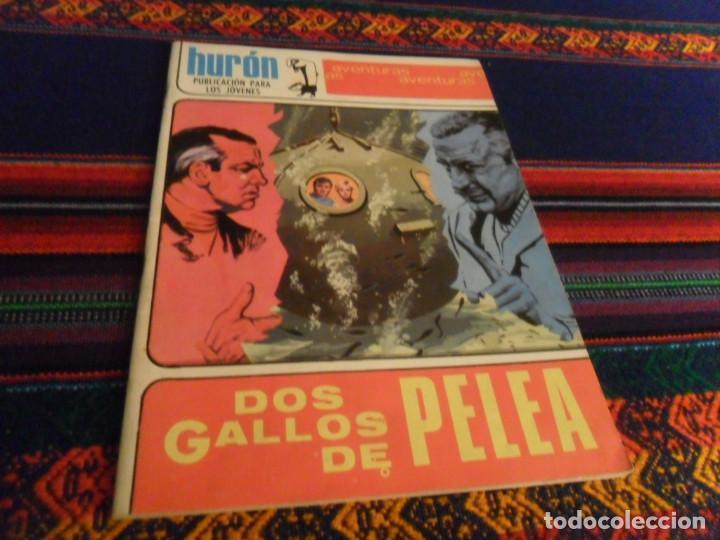 MUY BUEN ESTADO, HURÓN Nº 42 DOS GALLOS DE PELEA. TORAY 1969. 10 PTS. (Tebeos y Comics - Toray - Otros)