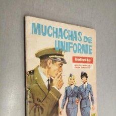 Tebeos: BABETTE Nº 40: MUCHACHAS DE UNIFORME / TORAY. Lote 237060600