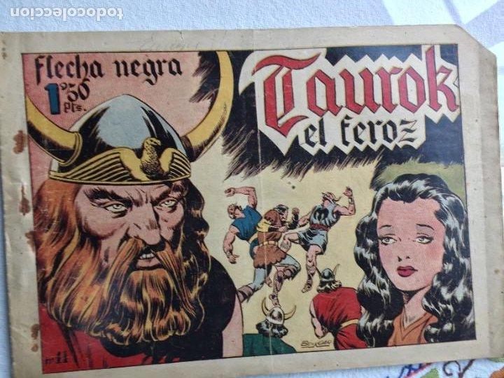 FLECHA NEGRA TAUROK EL FEROZ (Tebeos y Comics - Toray - Flecha Negra)