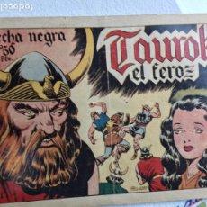 Tebeos: FLECHA NEGRA TAUROK EL FEROZ. Lote 237081400