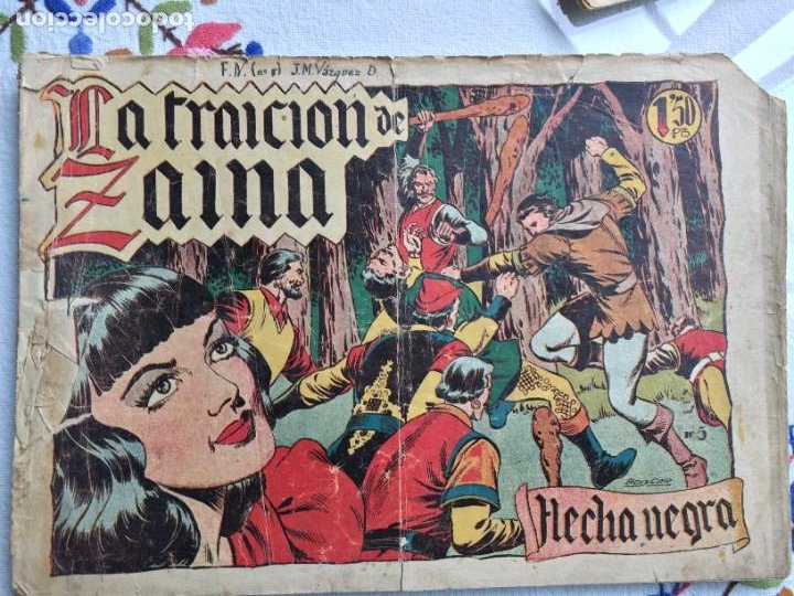 FLECHA NEGRA LA TRAICIÓN DE ZAIMA (Tebeos y Comics - Toray - Flecha Negra)