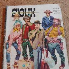 Tebeos: COMIC SIOUX EN ENVIADO ESPECIAL DEL AÑO 1964 Nº 10. Lote 237418545