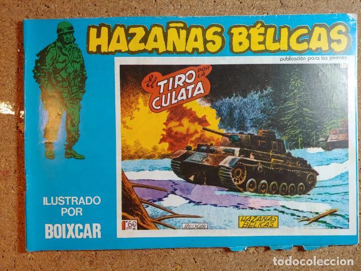 COMIC DE HAZAÑAS BELICAS EN EL TIRO POR LA CULATA Nº 158 (Tebeos y Comics - Toray - Hazañas Bélicas)