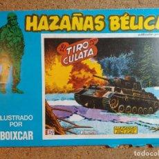 Tebeos: COMIC DE HAZAÑAS BELICAS EN EL TIRO POR LA CULATA Nº 158. Lote 238162515