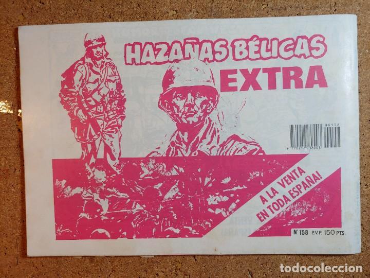 Tebeos: COMIC DE HAZAÑAS BELICAS EN EL TIRO POR LA CULATA Nº 158 - Foto 2 - 238162515