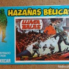 Tebeos: COMIC DE HAZAÑAS BELICAS EN LLUVIA Y BALAS Nº 157. Lote 238162550