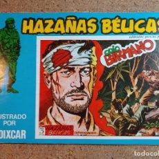 Tebeos: COMIC DE HAZAÑAS BELICAS EN ODIO BIRMANO Nº 128. Lote 238162680