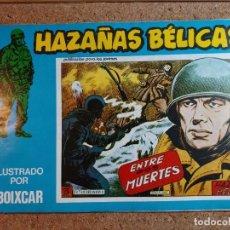 Tebeos: COMIC DE HAZAÑAS BELICAS EN ENTRE DOS MUERTES Nº 127. Lote 238162705