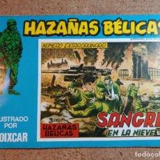 Tebeos: COMIC DE HAZAÑAS BELICAS EN SANGRE EN LA NIEVE Nº 126. Lote 238162725