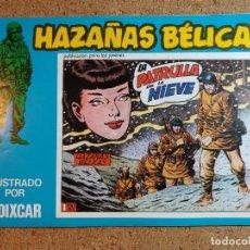 Tebeos: COMIC DE HAZAÑAS BELICAS EN LA PATRULLA DE LA NIEVE Nº 124. Lote 238162805