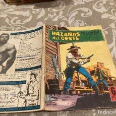 BDs: HAZAÑAS DEL OESTE - Nº 220 - EDICIONES TORAY - AÑO 1970. Lote 238461990