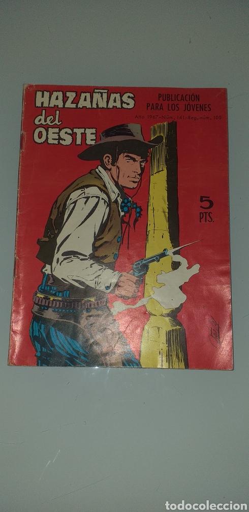 HAZAÑAS DEL OESTA - N° 141 TORAY (Tebeos y Comics - Toray - Hazañas del Oeste)