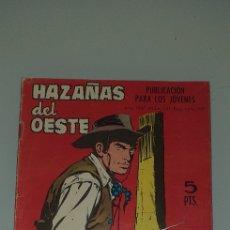 Tebeos: HAZAÑAS DEL OESTA - N° 141 TORAY. Lote 238735385