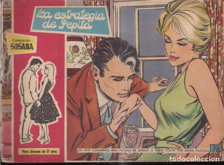 SUSANA Nº 71: LA ESTRATEGIA DE PEPITA (Tebeos y Comics - Toray - Susana)