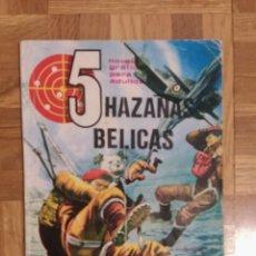 Tebeos: ~ TEBEO HAZAÑAS BÉLICAS, N: 5, AÑOS 60 ~. Lote 240369835