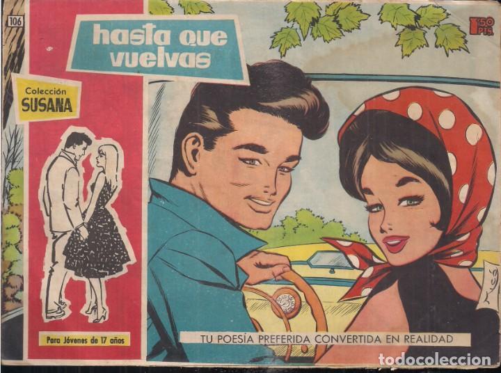SUSANA Nº 106: HASTA QUE VUELVAS (Tebeos y Comics - Toray - Susana)