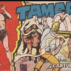 Tebeos: TAMAR 25: ¡CAPTURADO!. Lote 240662265