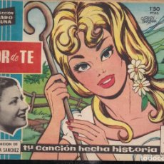 Tebeos: CLARO DE LUNA Nº 36: FLOR DE TE. GRAN CREACON DE MARGARITA SANCHEZ. Lote 241081300