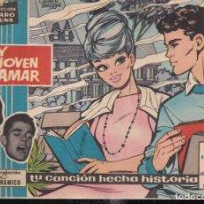 Tebeos: CLARO DE LUNA Nº 123: MUY JOVEN PARA AMAR. NUEVA GRABACIÓN DEL DUO DINÁMICO. Lote 241414065